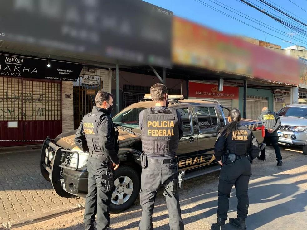 Investigações começaram em janeiro desse ano, por conta da chegada incomum muitos estrangeiros em Rio Branco — Foto: Arquivo/PF