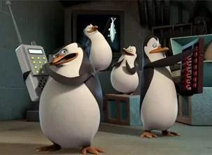 'Pinguins de Madagascar' vão bolar planos conta a gangue rival de Julien (Foto: Divulgação)
