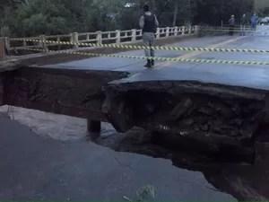 Ponte ERS-307 Campina das Missões (Foto: Divulgação/CRBM)
