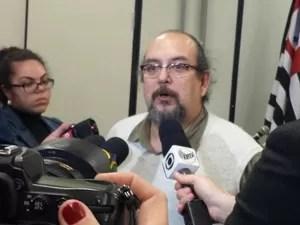 Médico Marcelo Reis fez alerta sobre sobrecarga de trabalho no HC da Unicamp (Foto: Carlos Alciati Neto / G1 Campinas)