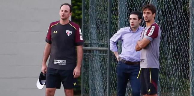 Rogério Ceni foi elogiado por Alexandre Pássaro — Foto: Reprodução/Léo Miranda