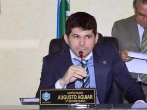 Augusto Aguiar amapá deputado amapá assembleia do amapá (Foto: Divulgação/Decom/Alap)