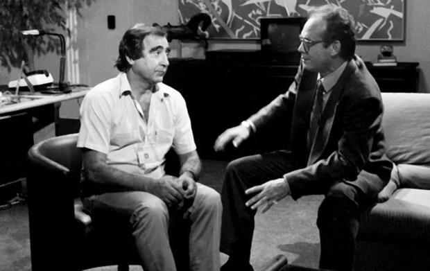 Luis Gustavo e José Wilker em 'Mico Preto', de 1990 — Foto: Arquivo Cedoc/TV Globo