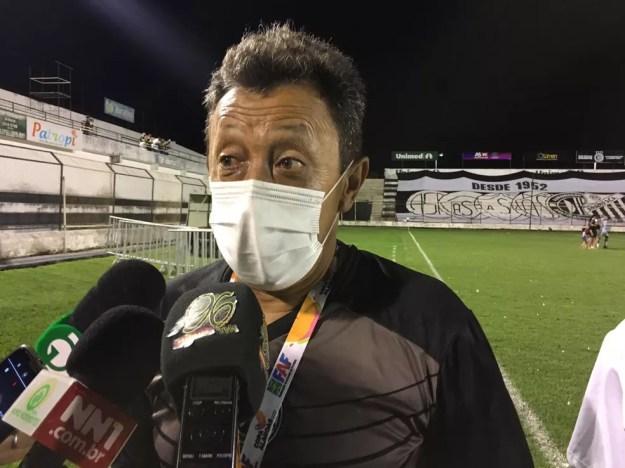 Lorival Santos deixouo ASA — Foto: Jânio Barbosa/Arquivo Pessoal