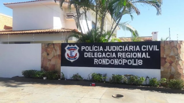 Polícia Civil de Rondonópolis — Foto: Polícia Civil