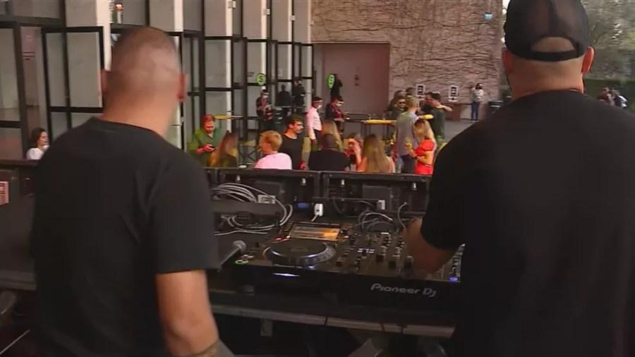 Evento com 600 convidados foi realizado em Porto Alegre — Foto: Reprodução/RBS TV