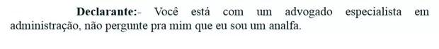 """Lula diz à PF que """"espera alguém"""" pedir desculpas; confira depoimento na íntegra"""