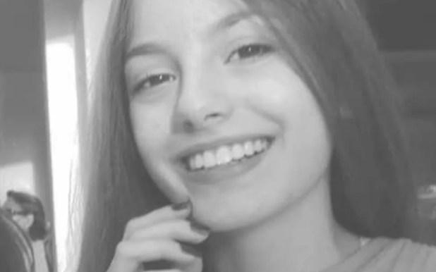 Tamires Paula de Almeida, de 14 anos, foi morta a facadas (Foto: Reprodução/TV Anhanguera)