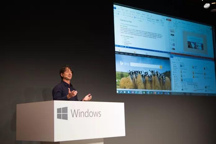 Aplicativos voltam a ter janelas com botões fechar e minimizar (Foto: divulgação/Microsoft)
