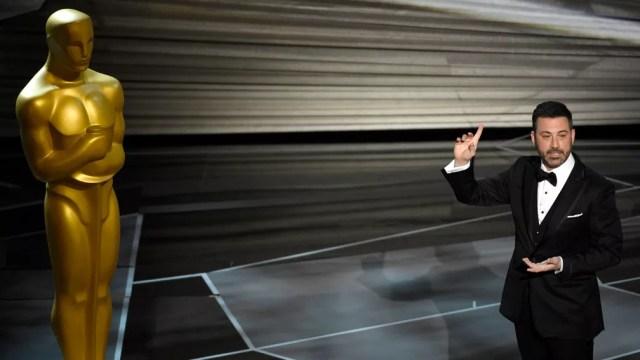 Cerimônia do Oscar 2018 aconteceu no Dolby Theatre e é apresentada mais uma vez por Jimmy Kimmel (Foto: Chris Pizzello/Invision/AP)
