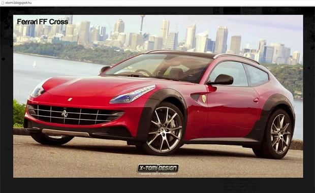 Ferrari FF versão aventureira (Foto: Reprodução/xtomi.blogspot.hu)