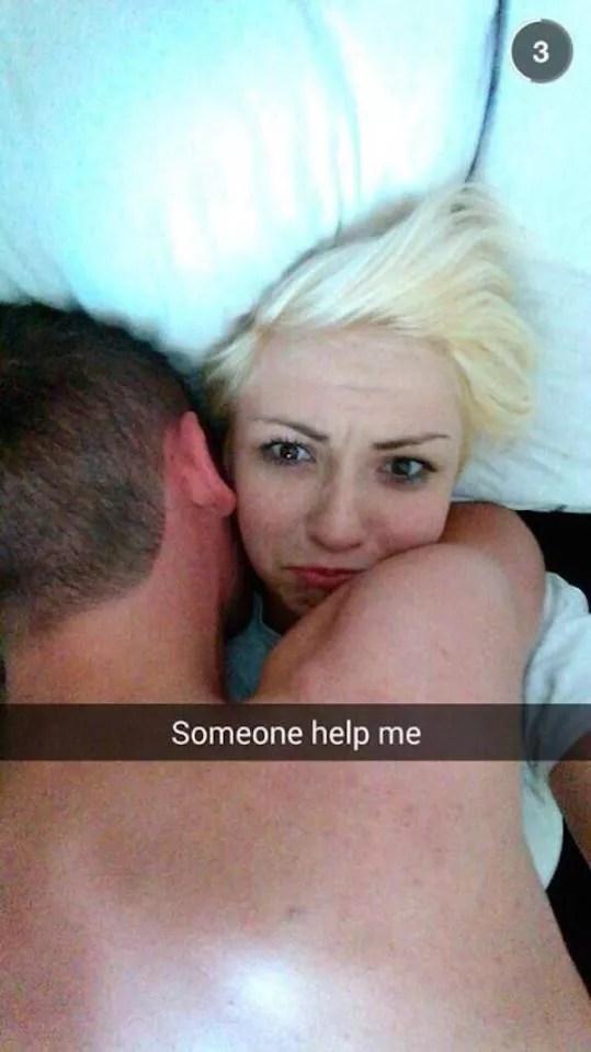 'Alguém me ajude'