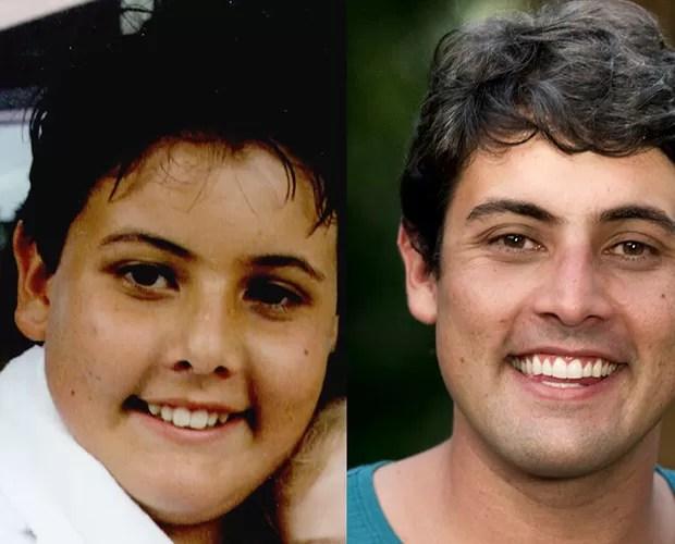 Esse rosto gordinho é o Bruno De Luca na primeira temporada de Malhação, em 1995 (Foto: CEDOC/Divulgação/TV Globo)