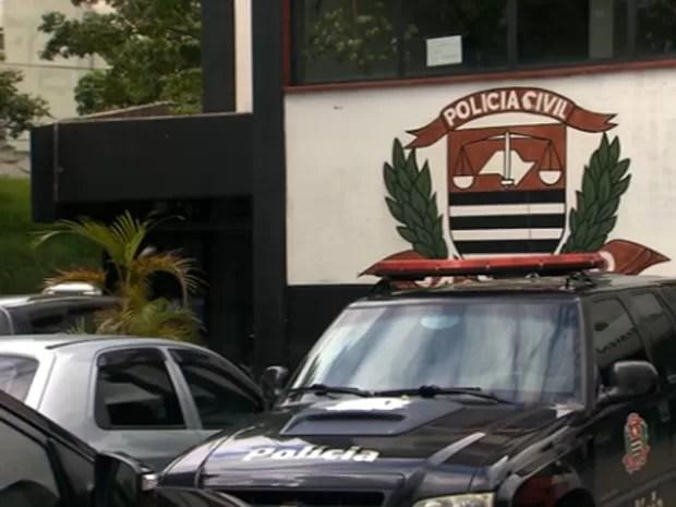 Polícia investiga roubo de 14 toneladas de dinamite em Guarulhos (Foto: Reprodução TV Globo)