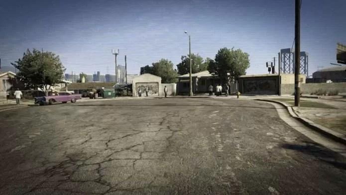 Grove Street está no game (Foto: Reprodução)