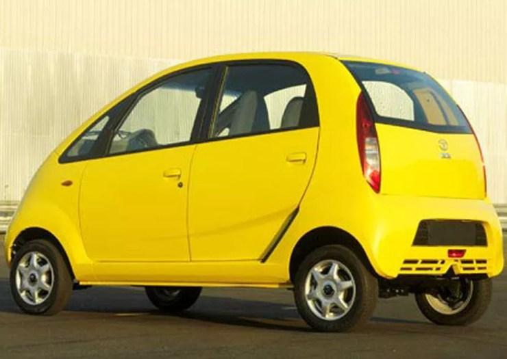 Tata Nano foi concebido para ser 'o carro do povo' (Foto: Divulgação)