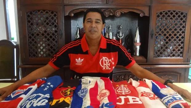 Heyder acumula passagem por diversos clubes do futebol brasileiro (Foto: Gustavo Pêna)