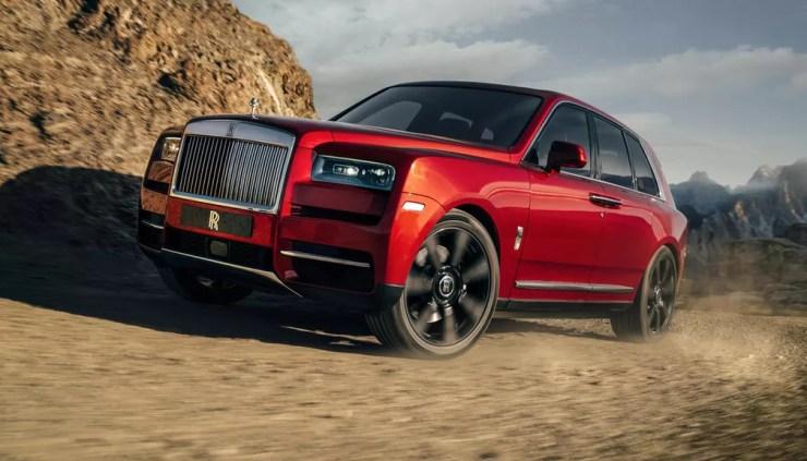 Rolls-Royce Cullinan — Foto: Divulgação
