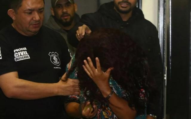 Mulher é presa em Planaltina (GO) suspeita de sequestrar bebê no DF (Foto: Reprodução/Polícia Civil)