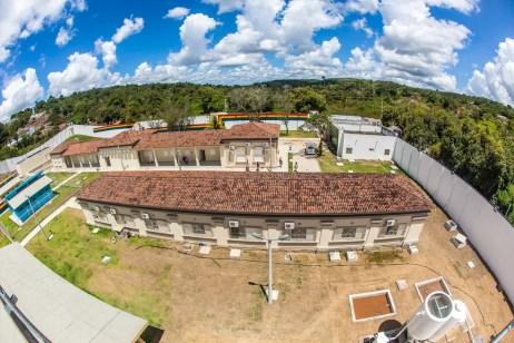 Internos fugiram do Case de Vitória de Santo Antão, na Mata Sul de Pernambuco (Foto: Mauro Filho/Funase/Divulgação)