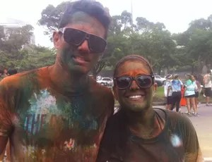 NOTA COLOR RUN (Foto: Bebel Clark / Globoesporte.com)