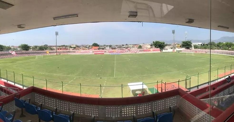 Estádio Moça Bonita — Foto: Divulgação/Bangu