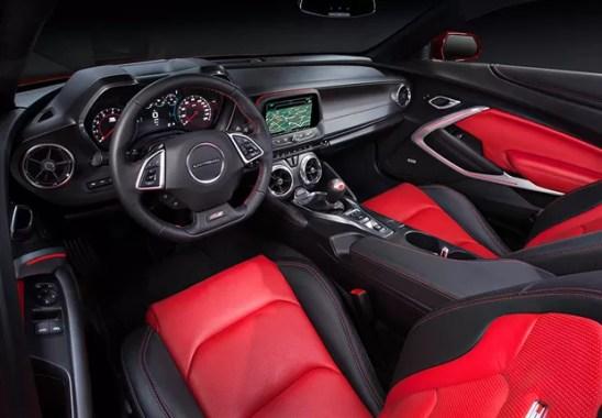 Camaro 2016 interior