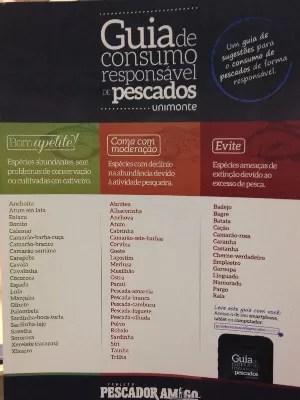 Cartaz será colocado para tirar dúvidas na hora da compra (Foto: Rodrigo Martins/ G1)