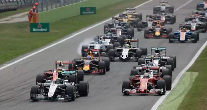 Nico Rosberg assume liderança na largada e vence GP da Itália (Foto: Reuters)