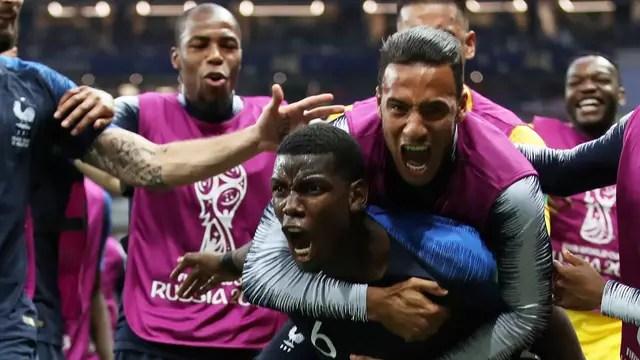 França Croacia final Copa do Mundo Pogba