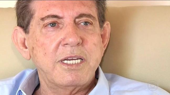 O médium João de Deus, preso em Goiás sob acusação de abuso sexual — Foto: Reprodução/TV Anhanguera