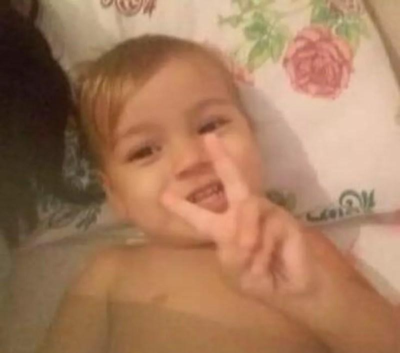 Criança de dois anos desaparece enquanto brincava no pátio de casa, em Manaus — Foto: Arquivo Pessoal