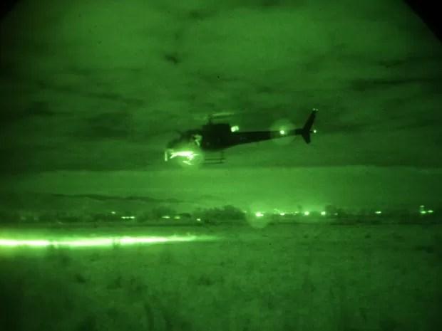 Operação Lunas em Cachoeira Paulista reuniu 270 militares em treinamento (Foto: Divulgação/Comando de Aviação do Exército)