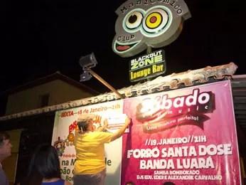 Manicômico Club foi interditado. (Foto: Jan Ribeiro/Prefeitura de Olinda)
