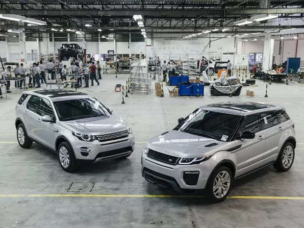 Land Rover Discovery Sport e Evoque serão produzidos em Itatiaia, no Rio de Janeiro (Foto: Divulgação)