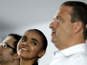 Marina Silva se filia ao PSB de Eduardo Campos (Foto: Ueslei Marcelino/Reuters)