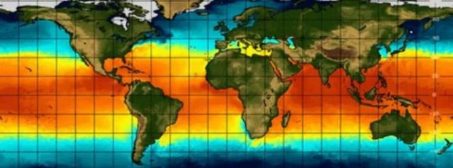 El Niño esteve especialmente ativo entre 1997 e 1998 e entre 2015 e 2016. — Foto: Reprodução/BBC