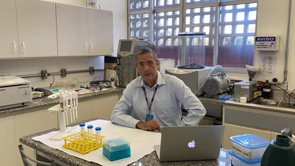 Ricardo Tostes Gazzinelli, pesquisador da Fiocruz-Minas e que lidera grupo da Fiocruz-FMRP/USP que pesquisa uma das potenciais vacinas brasileiras. — Foto: Ricardo Tostes Gazzinelli/Arquivo Pessoal