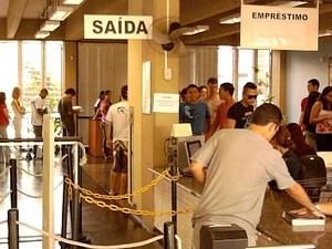 Termina a greve dos trabalhadores da Universidade Federal do ES (Foto: Leandro Nossa/ G1 ES)