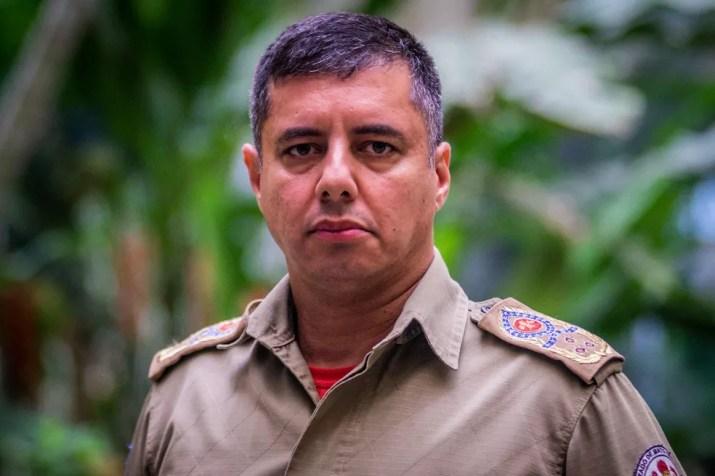 O coronel Alessandro Borges Ferreira comandará o Corpo de Bombeiros.  — Foto: Gcom/Assessoria