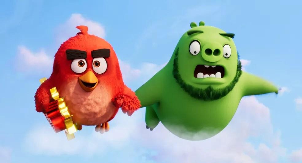 Cena de 'Angry Birds 2' — Foto: Reprodução