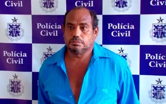 Suspeito foi preso ao visitar vítima em hospital — Foto: Reprodução/TV Santa Cruz