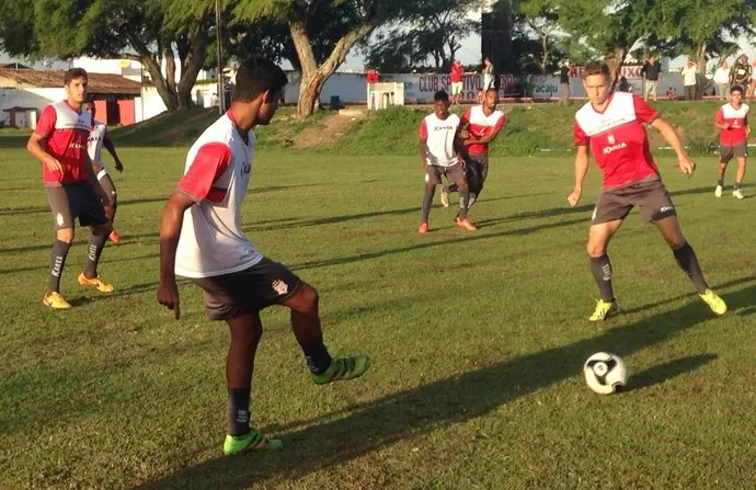 Sergipe, treino (Foto: Felipe Martins/Ascom CSS)