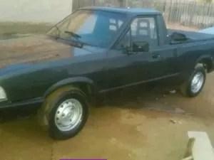 Pampa foi roubada no mesmo dia em que idoso comprou o veículo (Foto: Antônio Nascimento/Arquivo Pessoal)