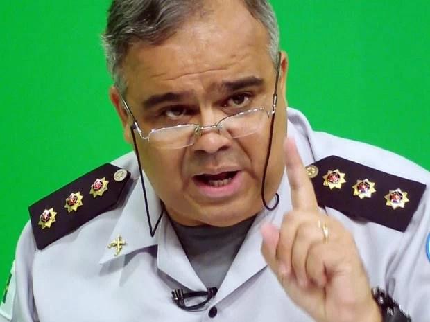 Coronel Sérgio Luiz de Souza Cordeiro, ex-chefe do departamento de saúde da Polícia Militar-DF (Foto: Ricardo Moreira / G1)