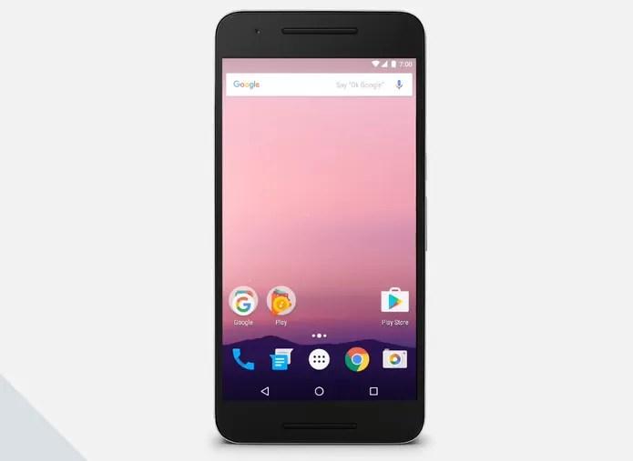 Android N (Foto: Reprodução/Google)