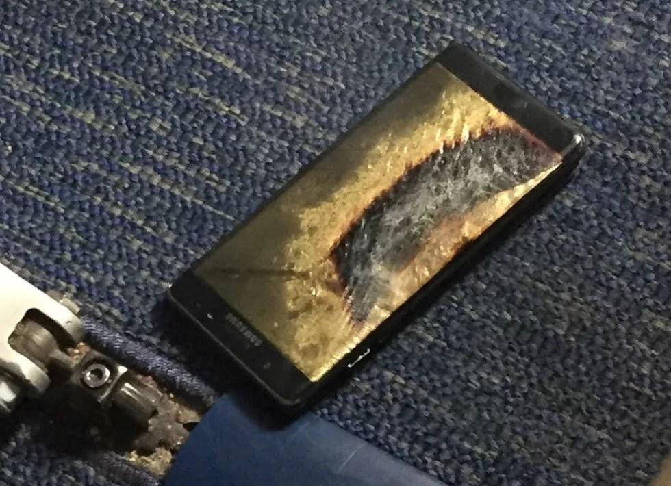 Problemas com modelo da Samsung evidenciou risco de superaquecimento de baterias (Foto: Brian Green/Divulgação/Via Reuters)