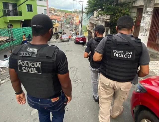 Homem apontado como maior assaltante de banco da Bahia é preso na região de Osasco, na grande São Paulo — Foto: Tony Silva / PC