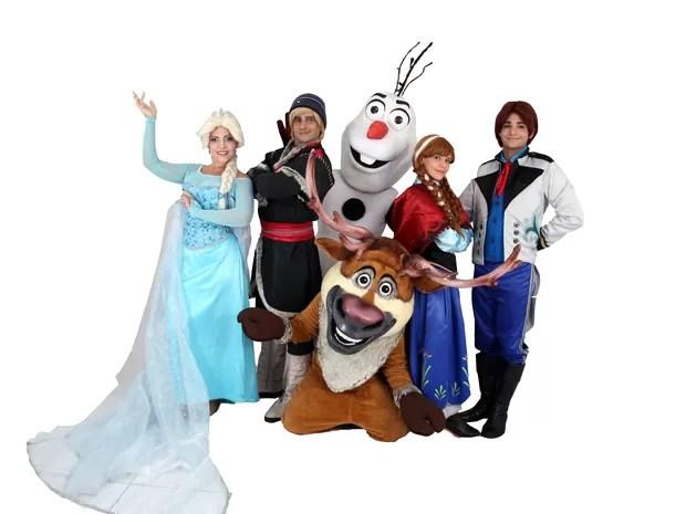 Espetáculo Frozen (Foto: Divulgação)