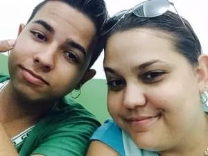Henrique com a irmã  (Foto: Laiana Lima Dias / Arquivo Pessoal)